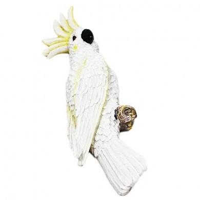 Figurka dekoracyjna - Kakadu - 31 cm