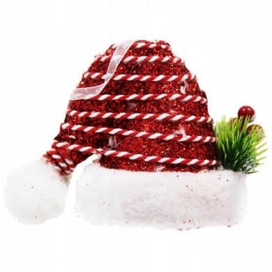 Zawieszka czapka mikołaja