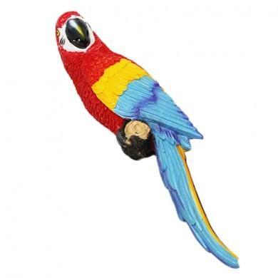 Figurka dekoracyjna - Papuga Ara - 31 cm