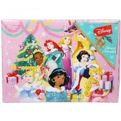 Kalendarz adwentowy z przyborami szkolnymi - Księżniczki