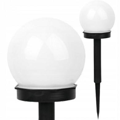 Lampa solarna kula biała 10cm