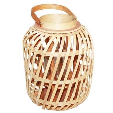 Lampion BOHO drewniany - uchwyt