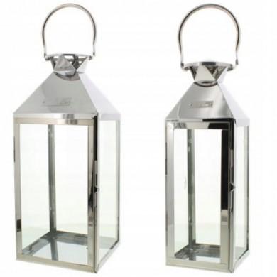 Lampion metalowy 35cm 45 cm
