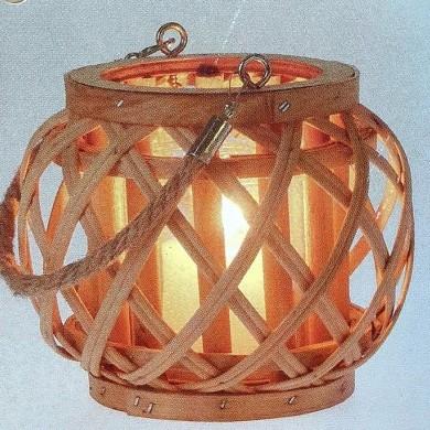 Lampion bambusowy