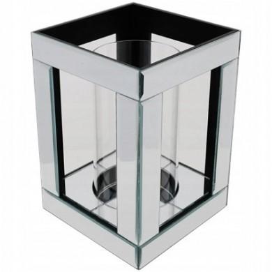 Lampion szklany glamour