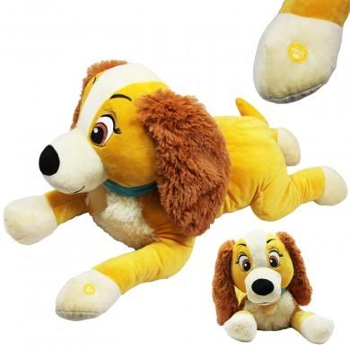 Maskotka grająca interaktywna z dźwiękiem - pies - zakochany kundel - 50 cm