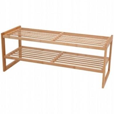 Bambusowa półka na obuwie
