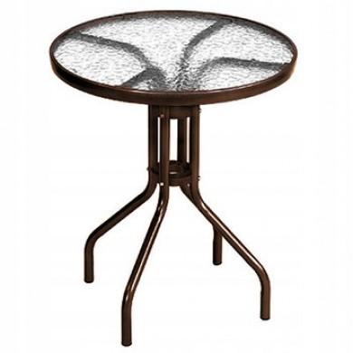Stół szklany tarasowy