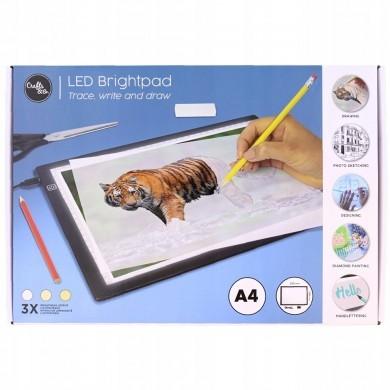 Tablica do rysowania LED Format A4 brightpad