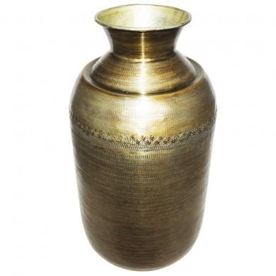 Wazon duży aluminiowy w stylu greckim złoty