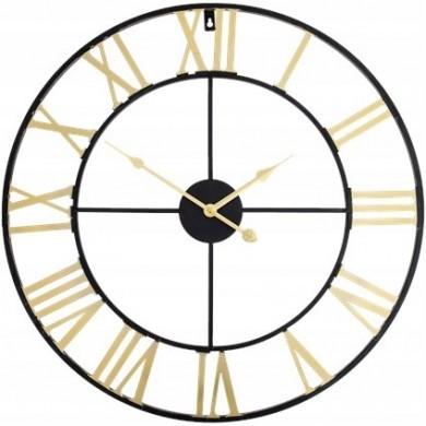 Stylowy zegar metalowy