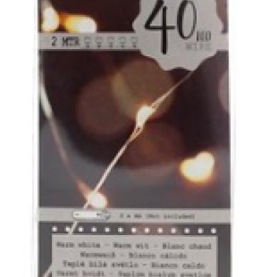 LAMPKI NA DRUCIKU 40LED